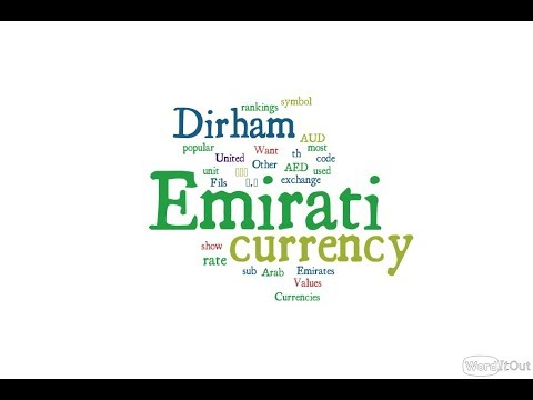 Emirati Currency - Dirham
