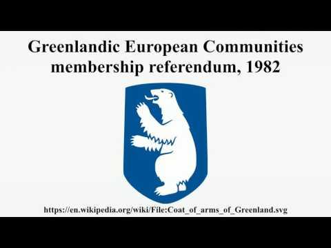 Greenlandic European Communities membership referendum, 1982