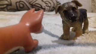"Игрушки шляйх собаки ,, Щенок одиночка"""