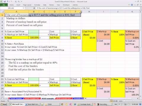 how to find markup price