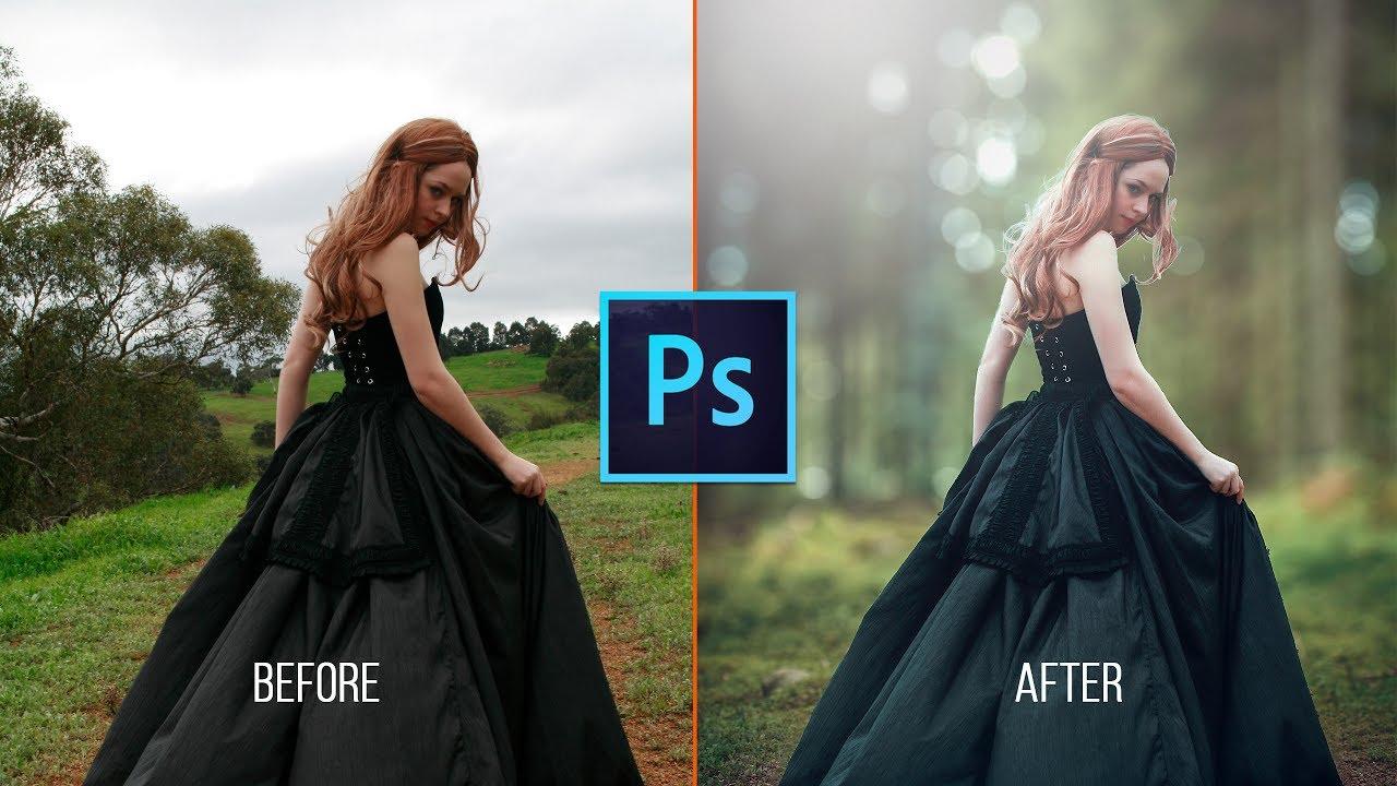 Photoshop CC Tutorial: How to Change Photo Background | Photoshop CC 2017 | Easy Way | latest Tool