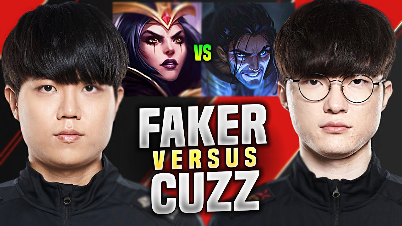 T1 FAKER vs T1 CUZZ! - SKT T1 Faker Plays Sylas Mid vs T1 Cuzz Leblanc! | KR SoloQ Patch 10.14