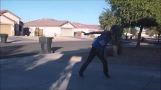 BBoy Wilder dancing to crave you by adventure club