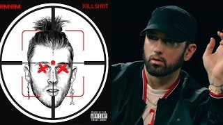 Eminem Disses Machine Gun Kelly, Joe Budden & Says Diddy Killed 2 Pac On New Track 'Killshot'
