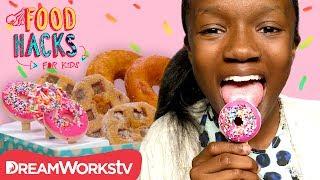 Donut Popsicle + MORE Donut Hacks! | FOOD HACKS FOR KIDS