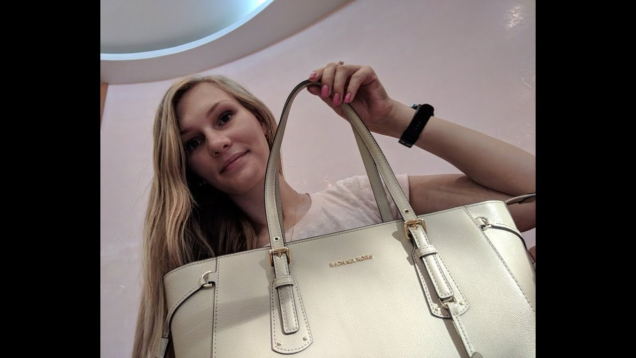 33a22b4c3ff MICHAEL Michael Kors Voyager Medium Multifunction Top-Zip Tote / Macy's  заказ сумки из USA
