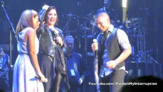 Repeat youtube video The First Wedding Proposal on Tour Ever!-Demi Lovato World Tour: Albany, NY 09|07|14