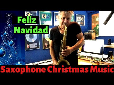 Feliz Navidad Saxophone Music and Backing...