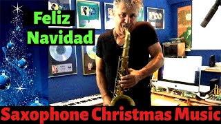 Feliz Navidad Saxophone Music and Backing Track