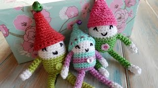 Crochet Shelf Elf Tutorial