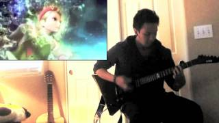 Honest Eyes By Black Tide (Guitar Cover By Angelo Munji) (W / Street Fighter X Tekken Trailers)