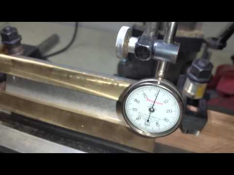 Mini Lathe brass gib milling setup