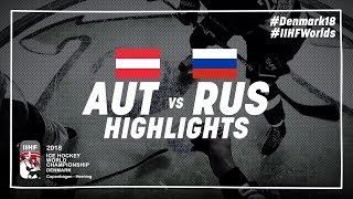 Game Highlights: Austria vs Russia May 6 2018 | #IIHFWorlds 2018