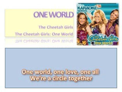 06 One World - Official Karaoke / Instrumental (Lyrics)