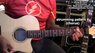 Drag Me Down One Direction Guitar Lesson EEMusicLIVE