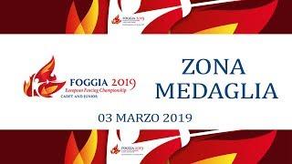 Europei Cadetti e Giovani Foggia2019 - ZONA MEDAGLIE