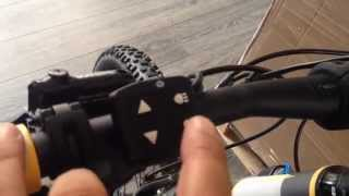 Yamaha Haibike Display  How to set Drive System E Bike