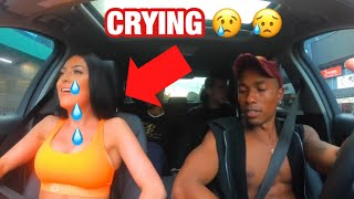 Uber Driver Raps & Makes Girl Cry!