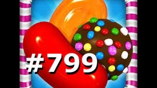 Candy Crush Saga - Level 799 - 3 stars - No Boosters