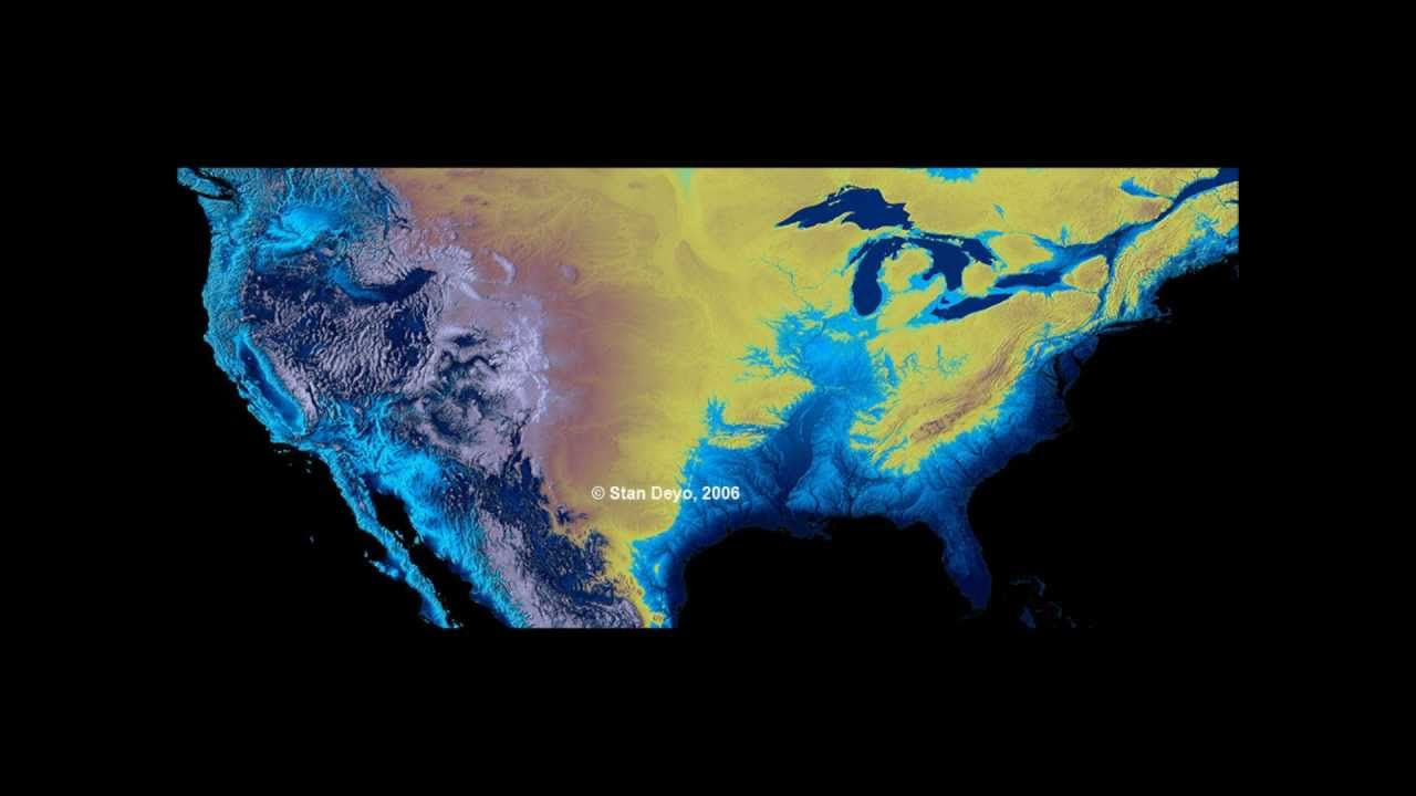 The Coming New Madrid Fault Earthquake To Divide The US Prepare - After the earthquake new map of us