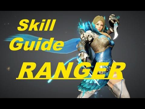 Black Desert Online Ranger Skill Guide /// Ranger Wombo Combos!!!