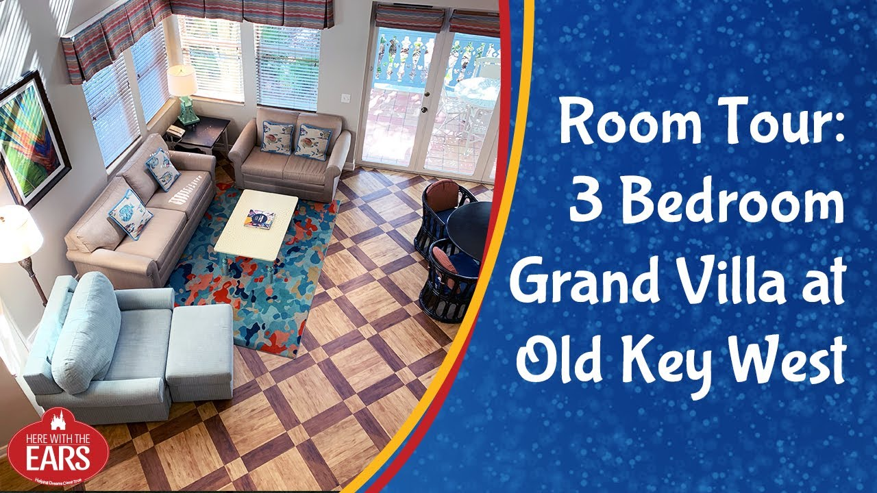 Old Key West 3 Bedroom Grand Villa Room Tour Youtube