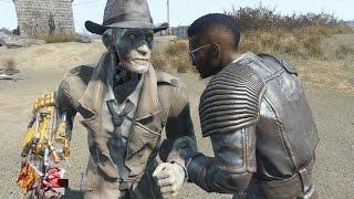 Nick Valentine vs X6-88 - Fallout 4