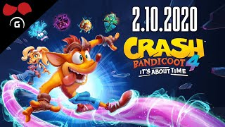 Crash Bandicoot 4 | #1 | 1/2 | 2.10.2020 | #Agraelus