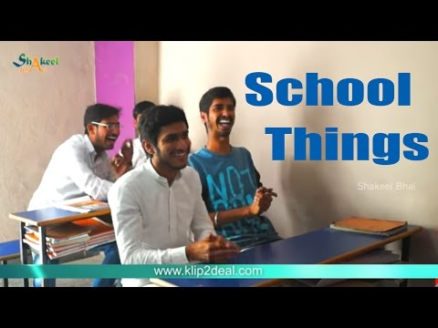 Back To School Short Film - Shakeel Bhai- Hyderabadi    Latest Indian Funny Video
