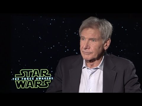 Harrison Ford - Star Wars: The Force Awakens Interview (HD)