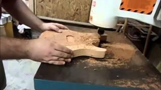 Fabricando uma Guitarra - Parte 01 - G Carvalho Luthier