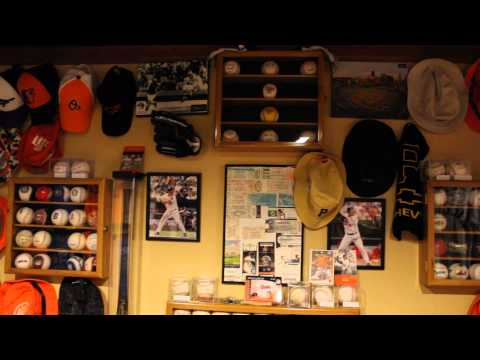 My new and improved Baseball Room