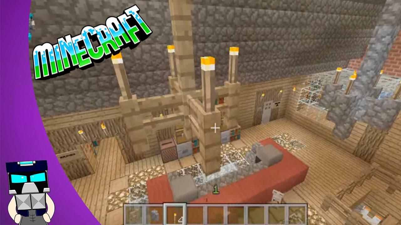 Hacer Hacer un candelabro en un Minecraft IEDW29HY