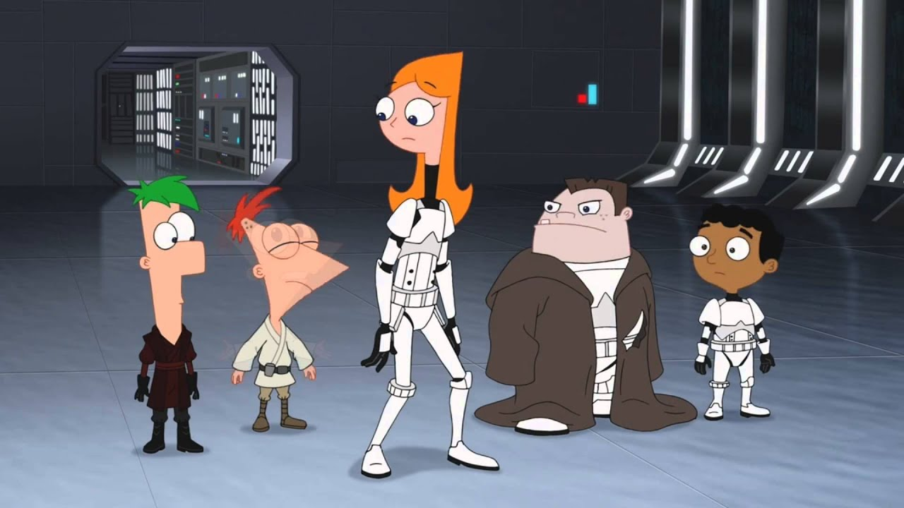 Phineas and ferb star wars vanessa