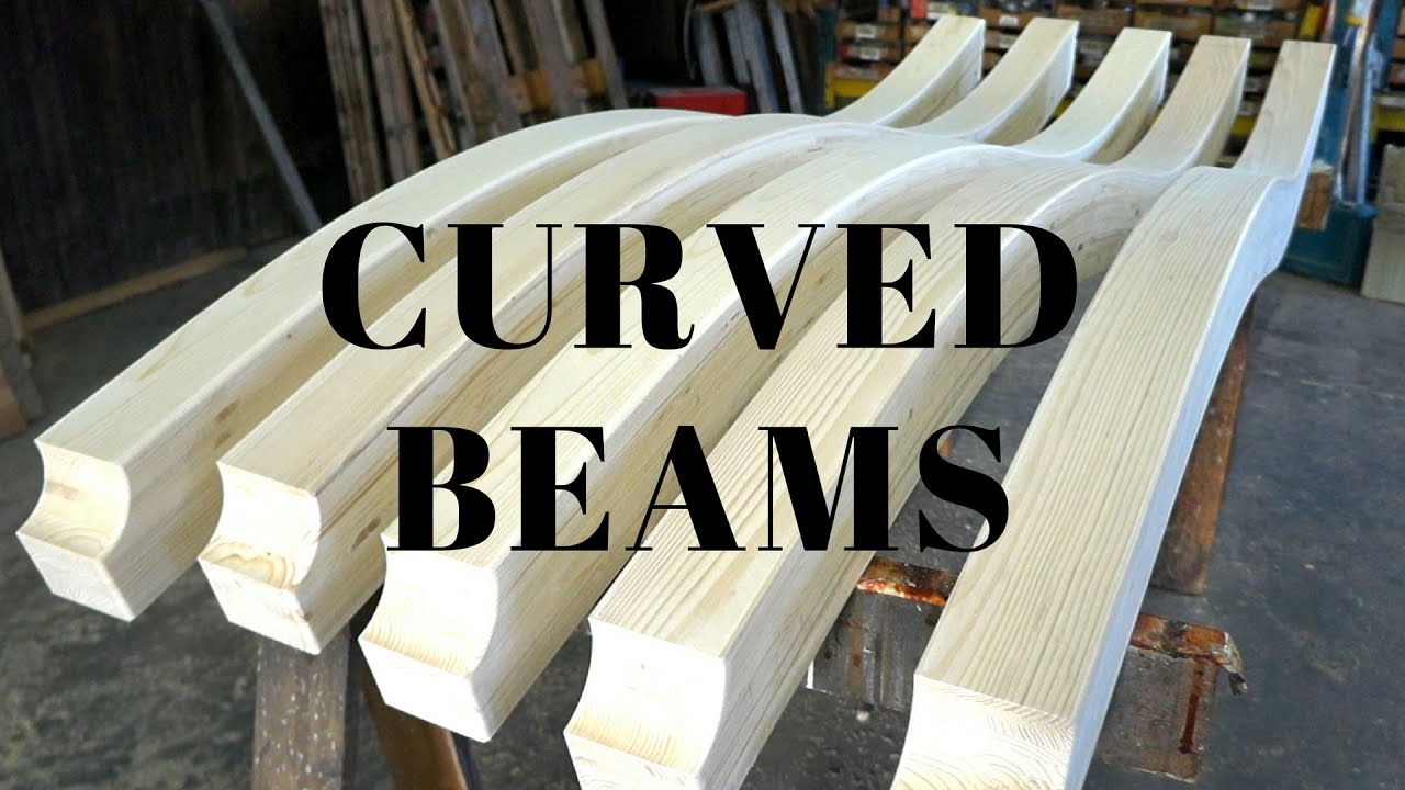 Making curved beams - YouTube