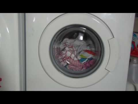 Beko WMA510 Washing Machine : Cotton EXTRA RINSE (Pt 10 of 13)