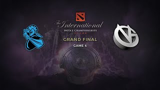 NewBee -vs- Vici Gaming, The International 2014, Grand Final, Game 4 + Ceremony
