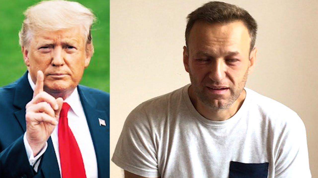 Трамп заинтересовался отравлением Навального, а Макаревич записал песню о 27 июля