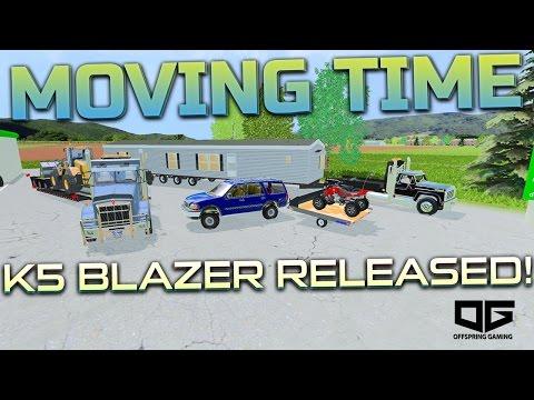 Farming Simulator 2015 - Moving! & K5 Blazer Released!