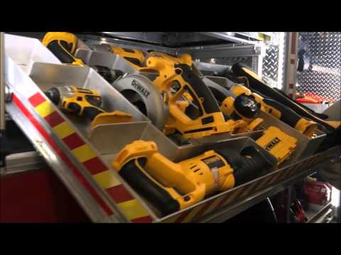 WALK AROUND OF THE HALESITE FIRE DEPARTMENT RESCUE 1 TRUCK AT THE FIRE, RESCUE & EMS MEGA SHOW 2016.