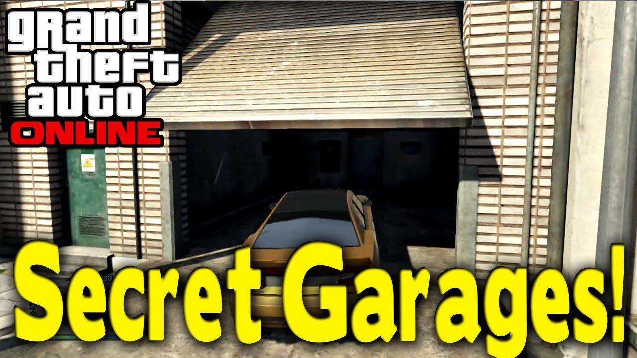 Gta Online Quot Secret Garages Quot Hidden Locations For Heists