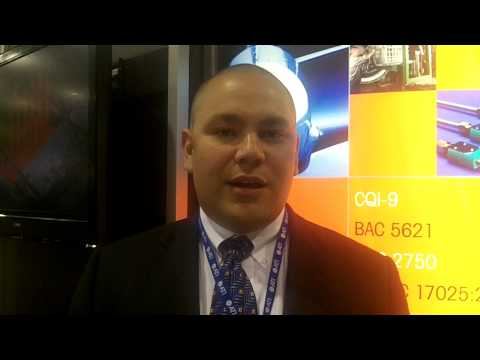 GeoCorp interview at AeroMat 2012