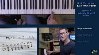 BASIC MUSIC THEORY 9 - Major & minor 7th Chords
