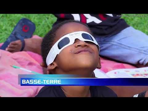 Reportage éclipse 21 août 2017 - ATV Guadeloupe