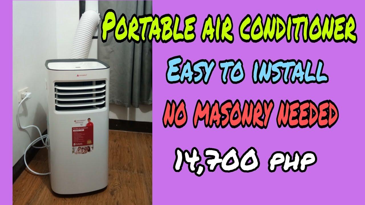 Hanabishi portable air conditioner sobrang lamig.