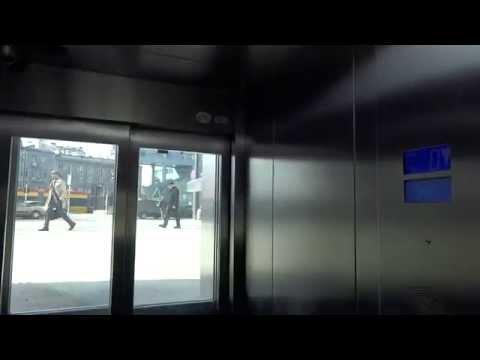 OTIS GEN2 MRL Traction Elevator @ Rondo ONZ Metro Station, Warsaw, Poland.