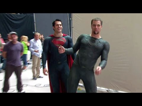 Kal-El vs Zod 'Man of Steel' Featurette [+Subtitles]