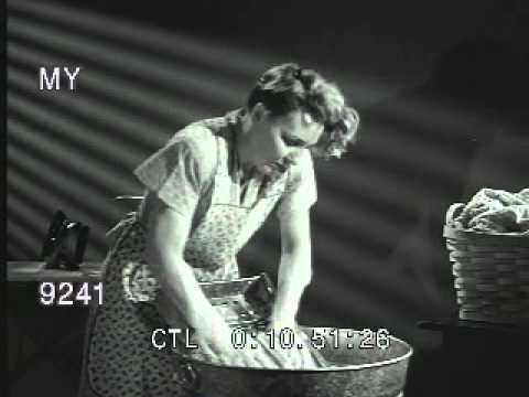 Woman Washing Clothes By Hand Youtube