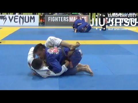 Gabriel Moraes VS João Miyao / European Championship 2017