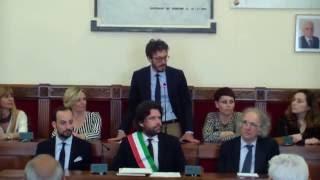 2016 mag 21 -  Savignano sul Rubicone - Conferimento Cittadinanza onoraria
